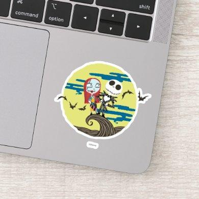 Jack and Sally | Cute Moon Sticker
