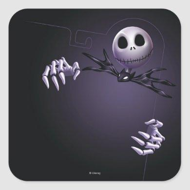 Jack Skellington | Jack Border Square Sticker
