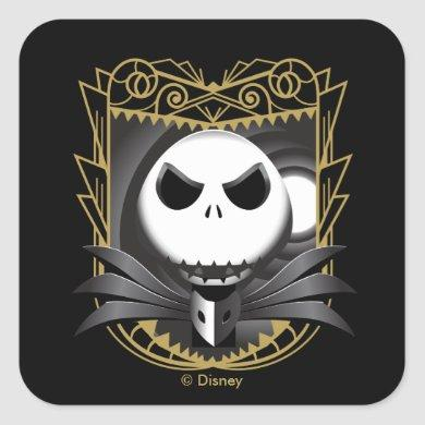 Jack Skellington | King Jack Square Sticker