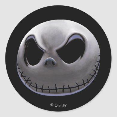 Jack Skellington | Master of Fright Classic Round Sticker