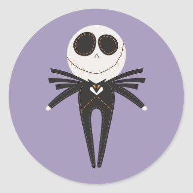 Jack Skellington Pook-a-Looz Classic Round Sticker