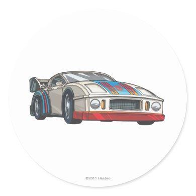 Jazz Car Mode Classic Round Sticker
