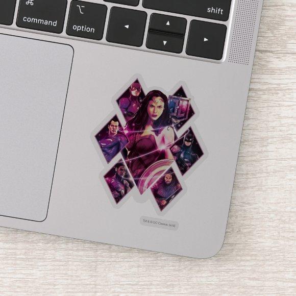 Justice League | Diamond Galactic Group Panels Sticker
