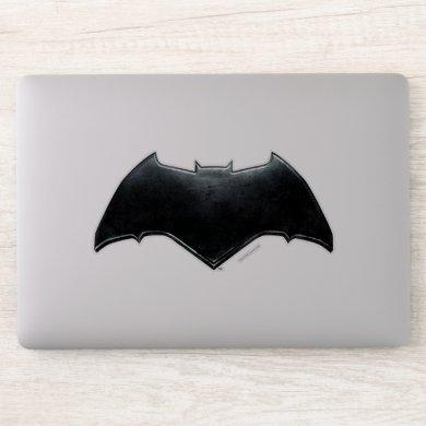 Justice League | Metallic Batman Symbol Sticker