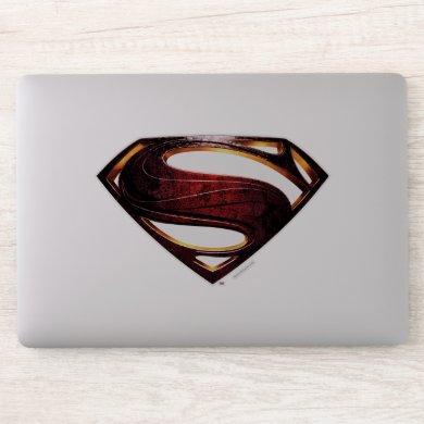Justice League | Metallic Superman Symbol Sticker