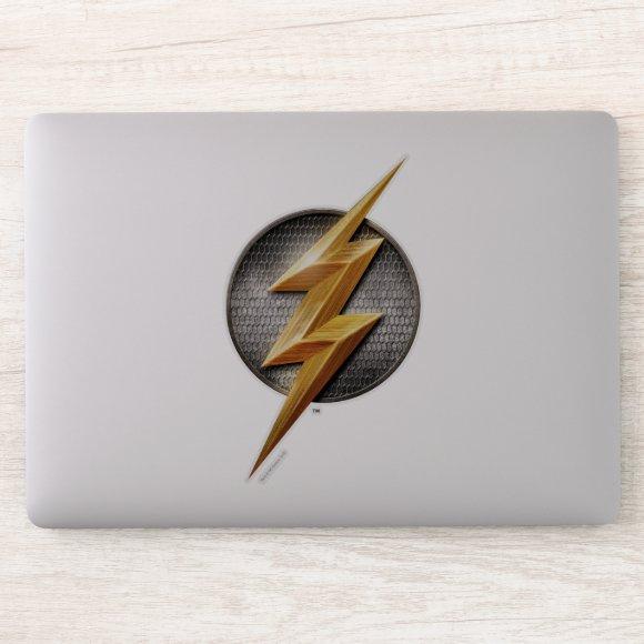Justice League | The Flash Metallic Bolt Symbol Sticker