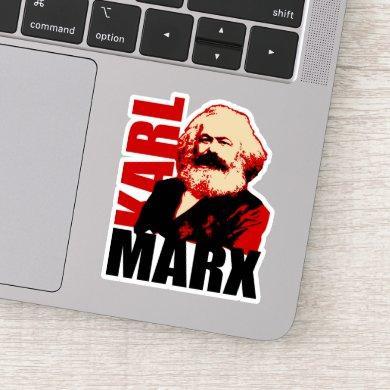 Karl Marx, Socialist & Communist Icon Sticker