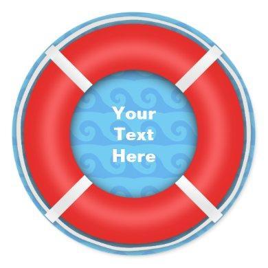 Lifebuoy Classic Round Sticker