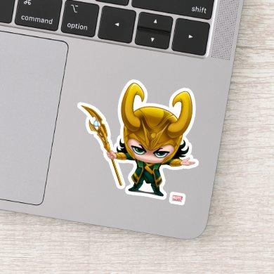 Loki Stylized Art Sticker