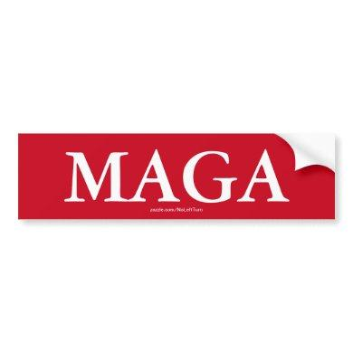 MAGA Bumper Sticker