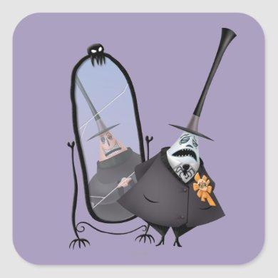 Mayor of Halloween Town | Mirror Square Sticker