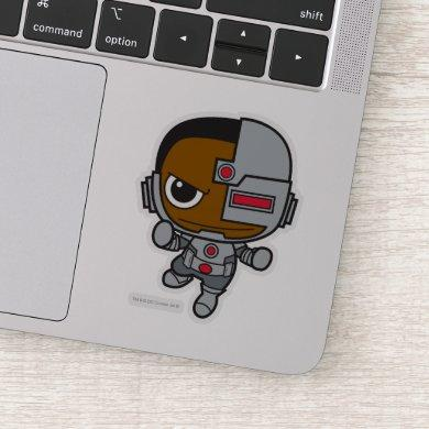 Mini Cyborg Sticker