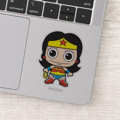 Mini Wonder Woman Sticker