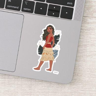 Moana Captured Moment Sticker