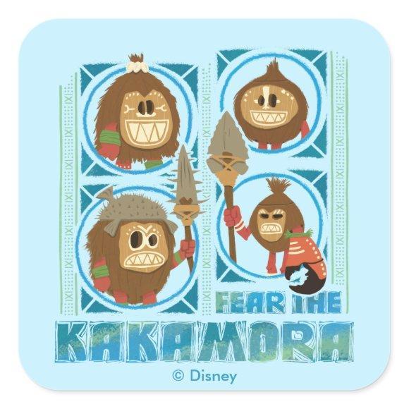Moana | Fear The Kakamora Square Sticker