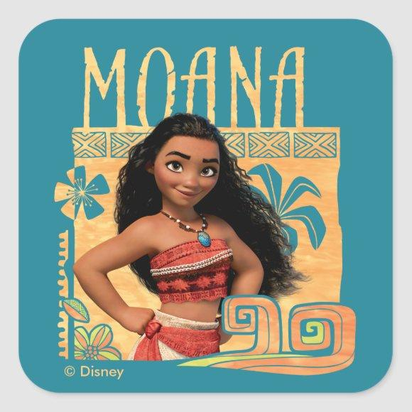 Moana   Find Your Way Square Sticker