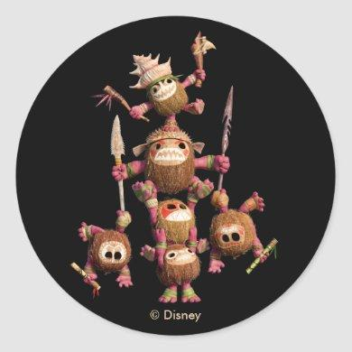 Moana | Kakamora - Coconut Pirates Classic Round Sticker