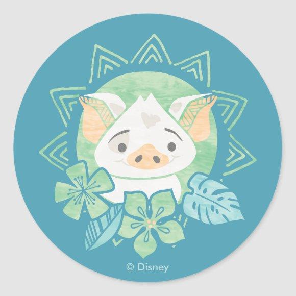 Moana | Pua - Not For Eating Classic Round Sticker