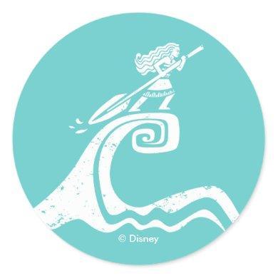 Moana | Sailing Spirit Classic Round Sticker