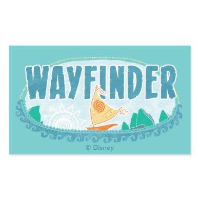 Moana | Wayfinder Rectangular Sticker
