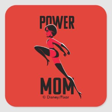 Mrs. Incredible | Power Mom Square Sticker