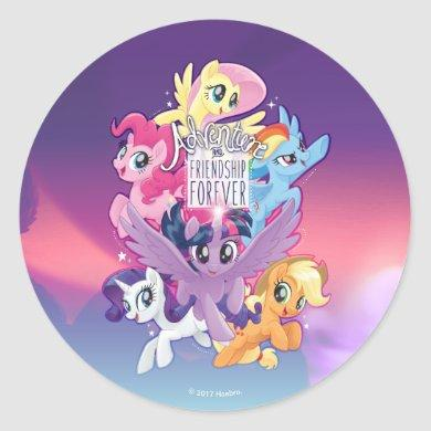 My Little Pony | Adventure and Friendship Forever Classic Round Sticker