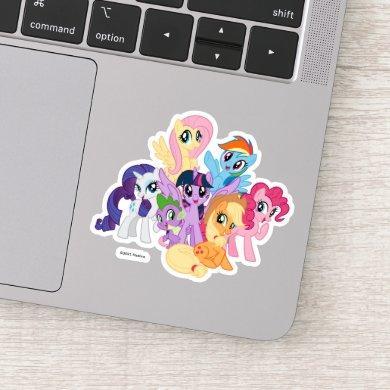 My Little Pony   Best Friends Group Sticker