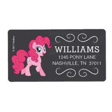 My Little Pony | Chalkboard Pinkie Pie Label