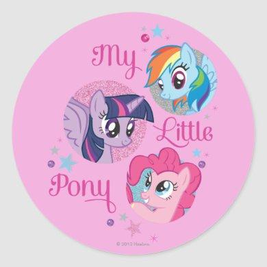 My Little Pony Classic Round Sticker