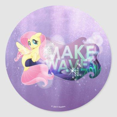 My Little Pony | Fluttershy - Make Waves Classic Round Sticker