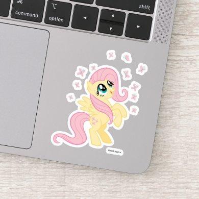 My Little Pony   Fluttershy With Butterflies Sticker
