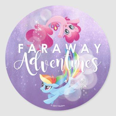 My Little Pony | Pinkie and Rainbow - Adventures Classic Round Sticker