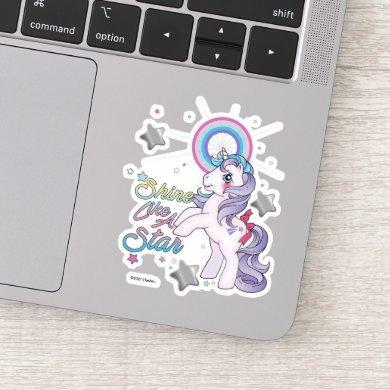 My Little Pony Retro   Glory - Shine Like A Star Sticker