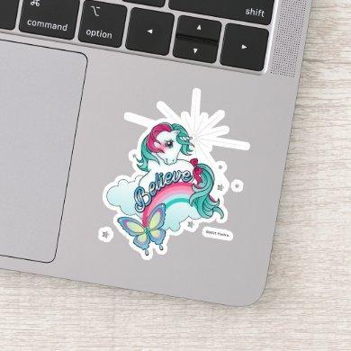 My Little Pony Retro   Gusty - Believe Sticker