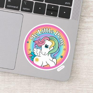 My Little Pony Retro   Starshine Logo Sticker