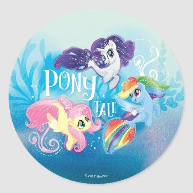 My Little Pony | Seaponies - Pony Tale Classic Round Sticker
