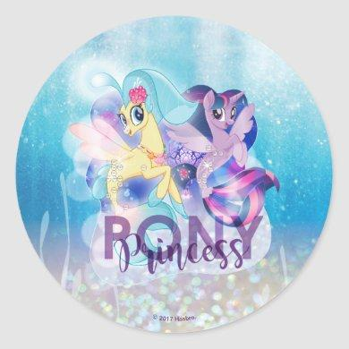 My Little Pony | Skystar and Twilight - Princess Classic Round Sticker