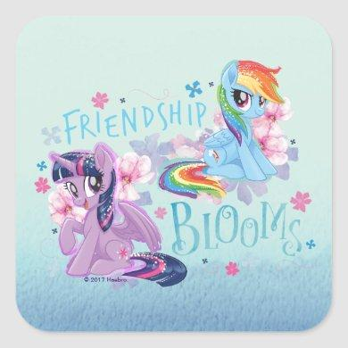 My Little Pony | Twilight and Dash - Friendship Square Sticker