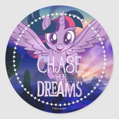 My Little Pony | Twilight - Chase Your Dreams Classic Round Sticker