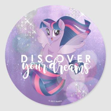 My Little Pony | Twilight - Discover Your Dreams Classic Round Sticker
