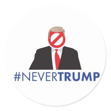 Never Trump Sticker