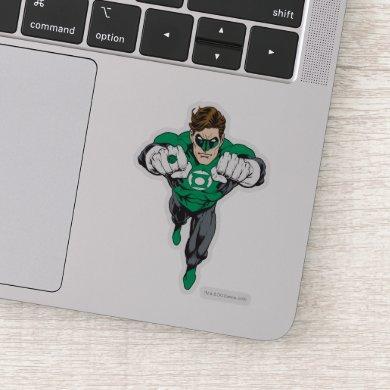 New Green Lantern Flying Sticker