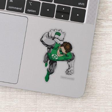 New Green Lantern Punch Sticker