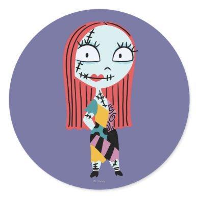 Nightmar Before Christmas | Cute Sally Classic Round Sticker