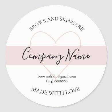 Personalized Homemade Cosmetic Label