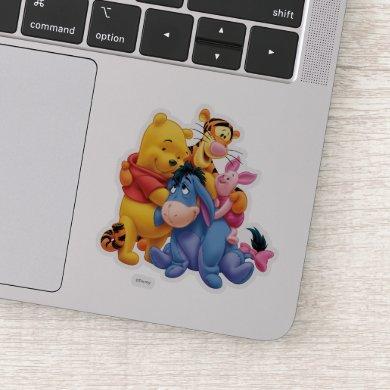 Pooh & Friends 5 Sticker