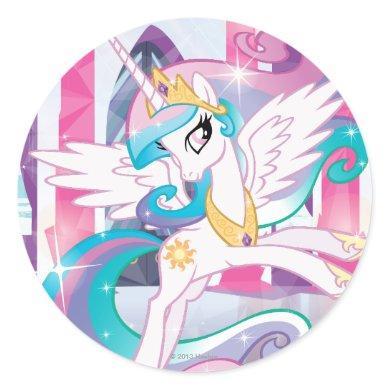 Princess Celestia Classic Round Sticker