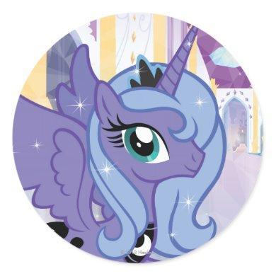 Princess Luna Classic Round Sticker