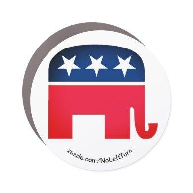 Pro Republican Pro GOP Car Magnet