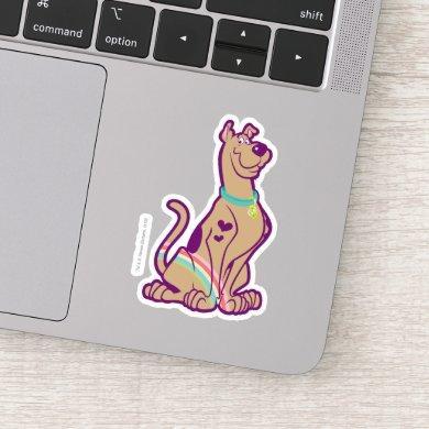 Rainbow Scooby-Doo Sticker